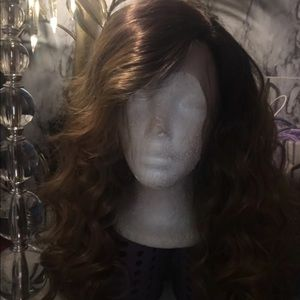 Brand new ombré high heat synthetic lace front wig